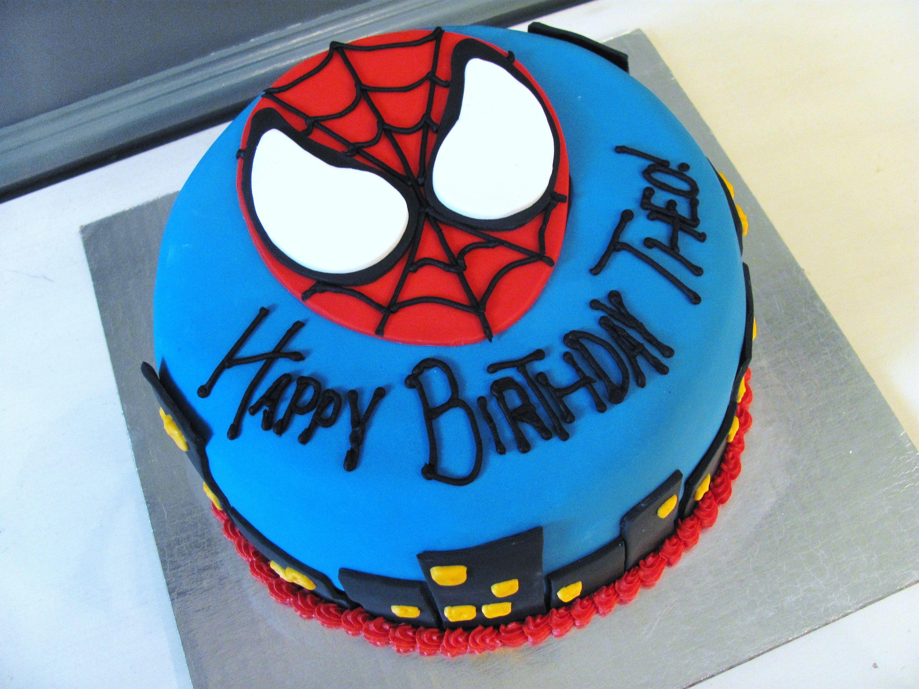 Best Spiderman Cake Ideas