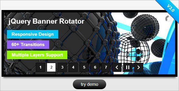codecanyon jquery banner rotator / slideshow