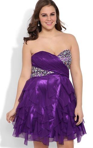 Plus Size Homecoming Dresses | Deb | Homecoming Dresses ...