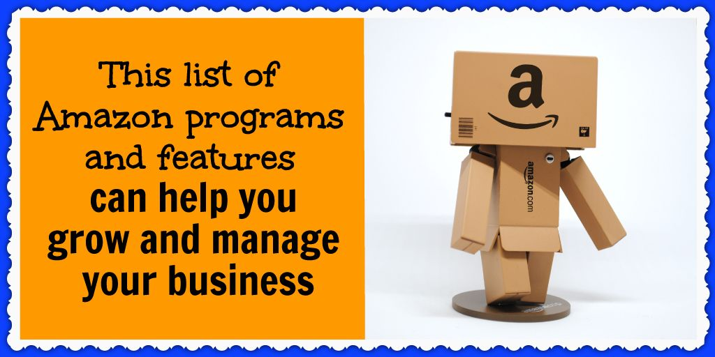 This list of Amazon programs and features can help you