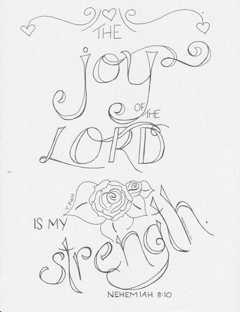 Nehemiah 8-10-coloring | Bible Journaling | Pinterest | Journaling ...