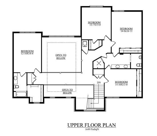 5 Bedroom House Plan Luxury Transitional Style 5164 Sq Ft House Plans 5 Bedroom House Plans Bedroom House Plans