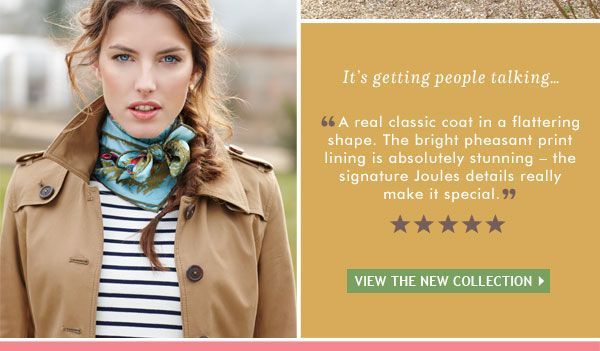 Joules - Maycroft Trench Coat