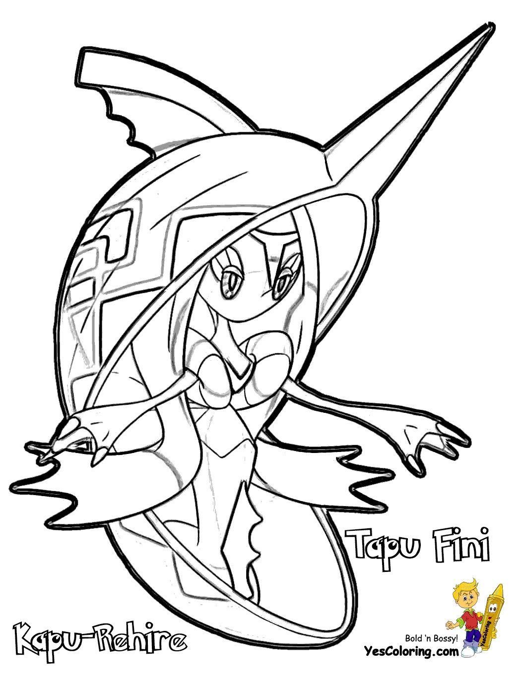 Pokemon Coloring Pages Tapu Bulu Through The Thousands Of Pictures On The Net Concerning Pokemon