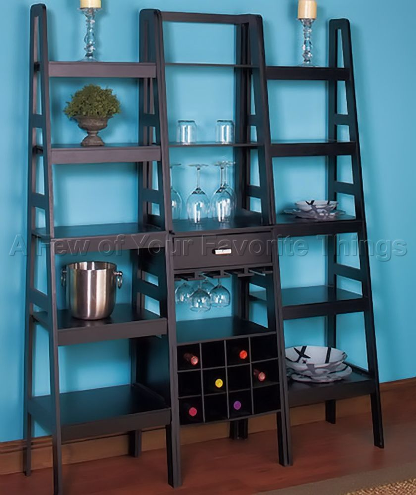 Ladder Shelf Storage Ideas