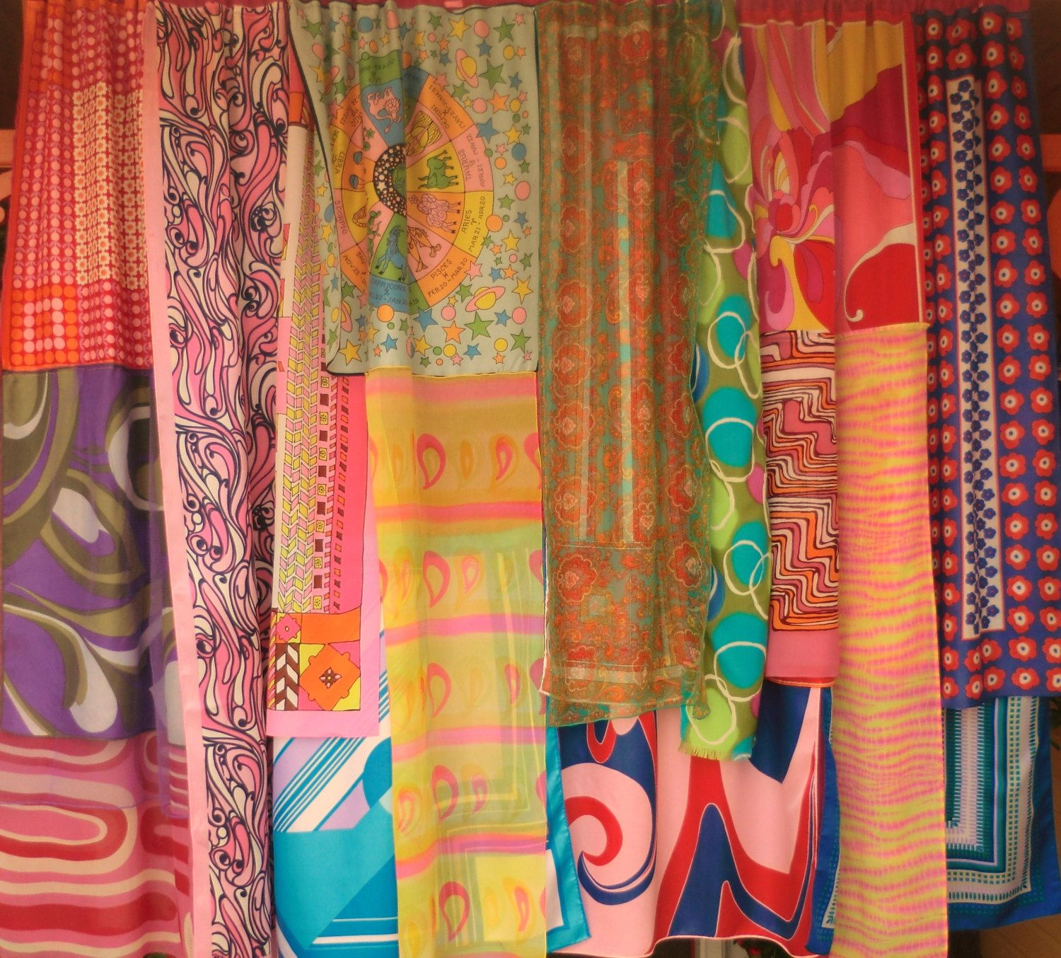 WHATS YOUR SIGN Handmade Gypsy Curtains By BabylonSisters
