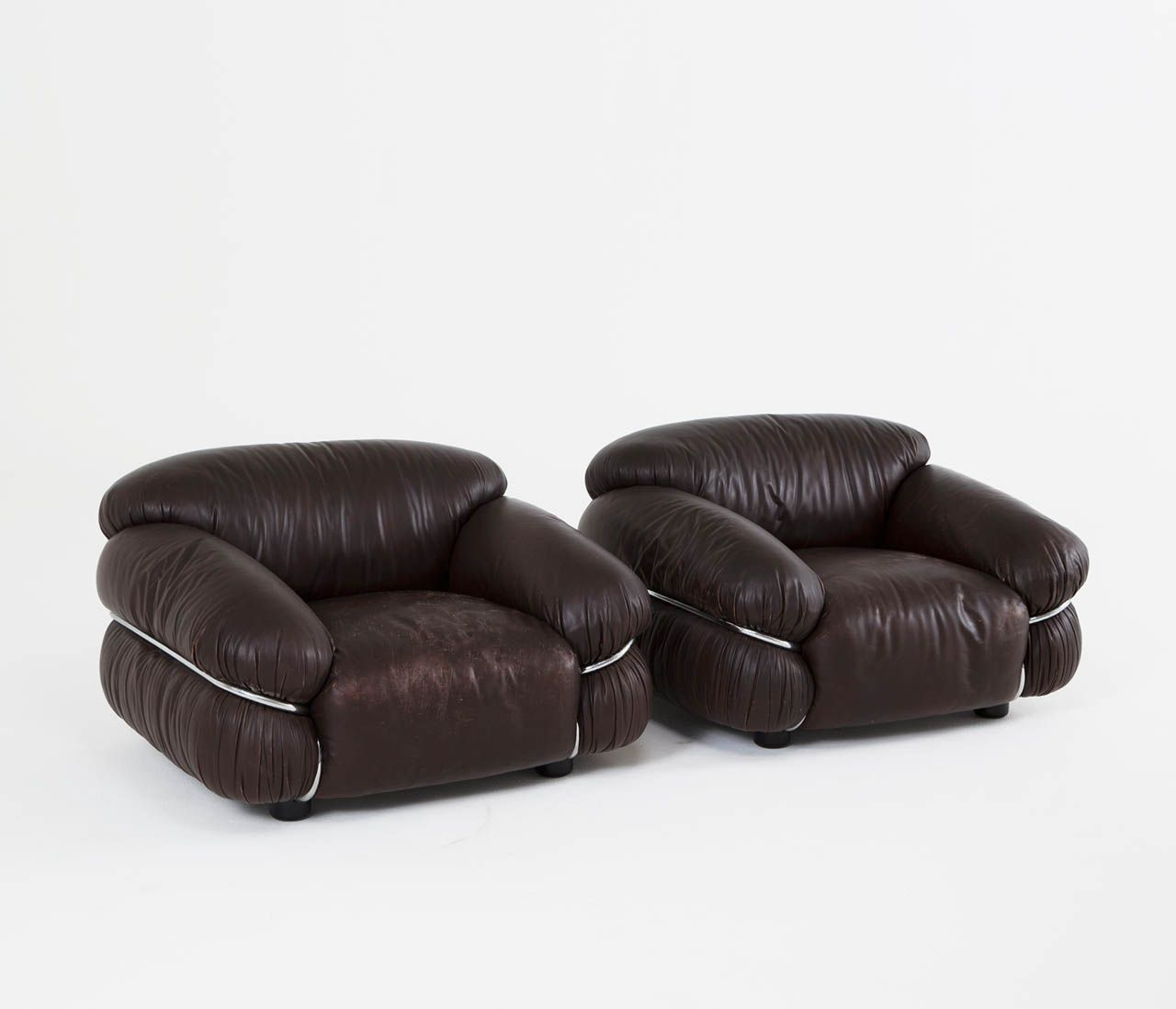 Ausgefallene Büromöbel Pair Of Quotsesann Quot Lounge Chairs By Gianfranco Frattini For