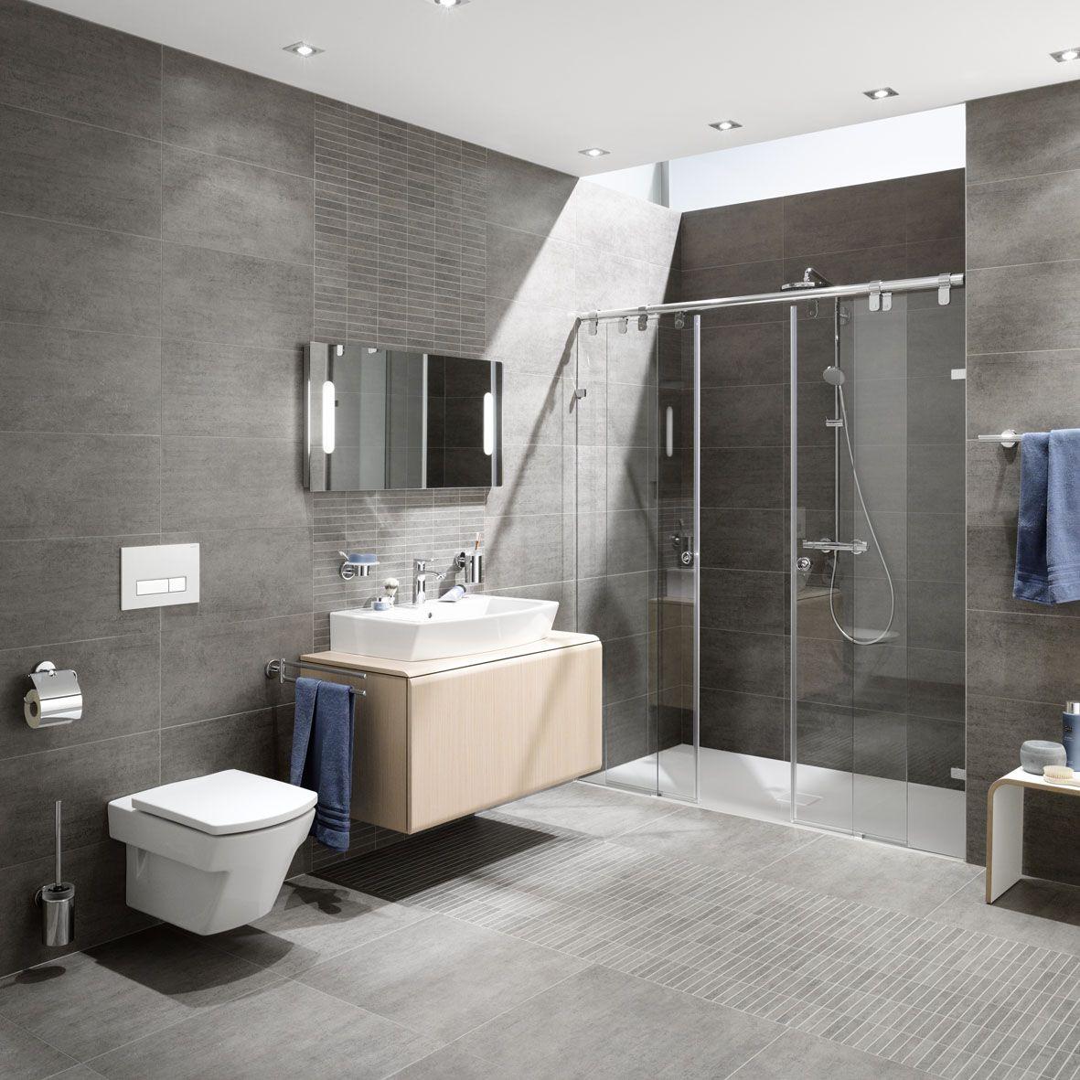 Moderne Badezimmer Ein Blick Auf Die Dekoration