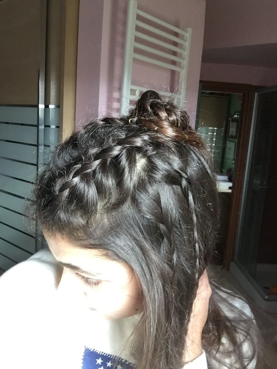 another boho hairstyle! this time i did two small dutch braids