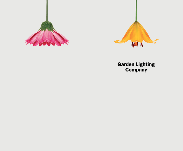 Garden Lighting Company By The Chase | Graphic Design | Pinterest