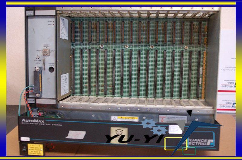 Reliance Electric 16 slot rack Automax plc 57c331a 803456-8ra nuevo!