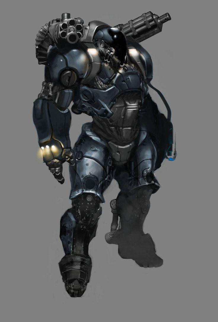 Heavy Armour 2.0 by JustinAAdams on deviantART