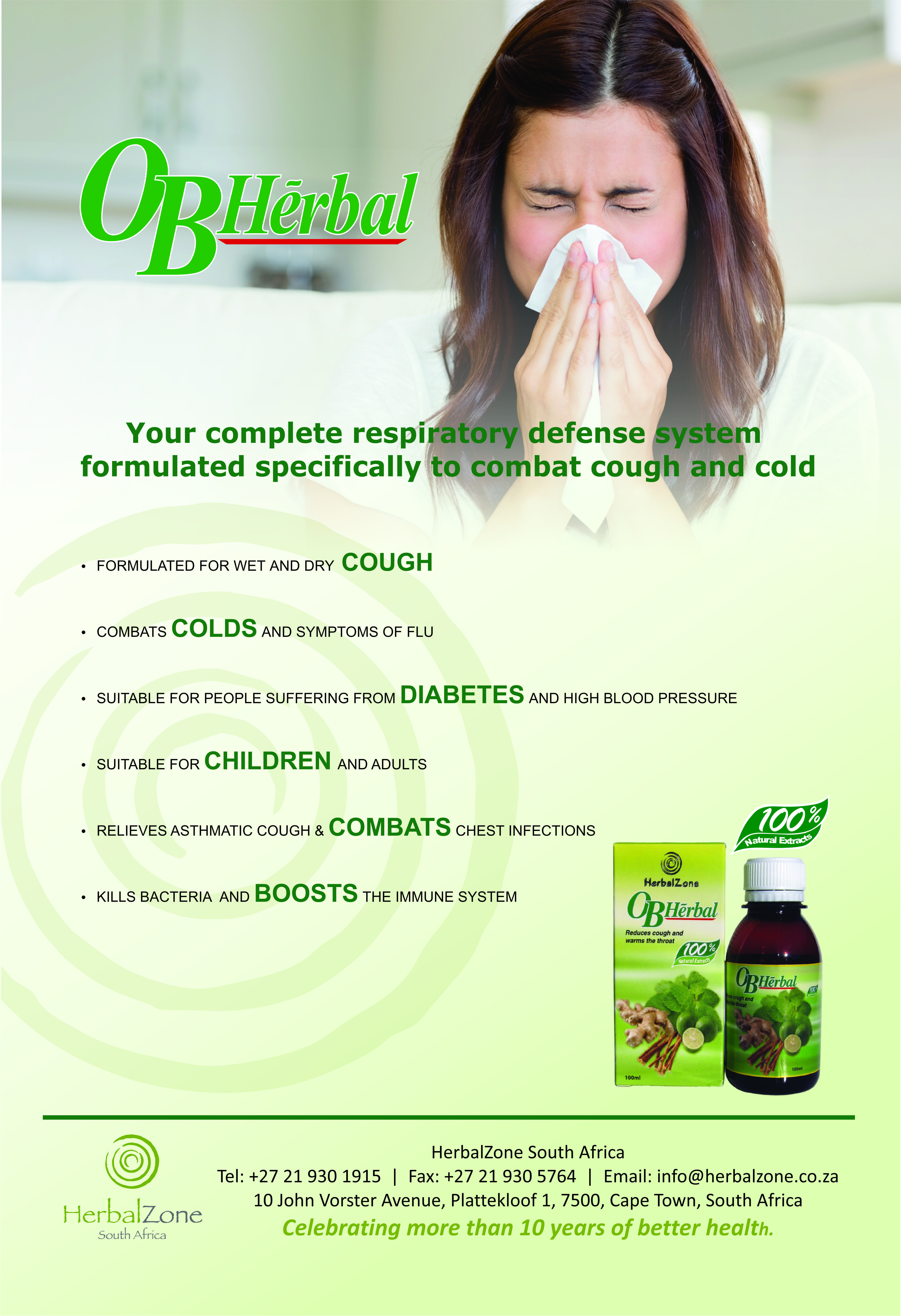 OB Herbal image by Herbal Zone South Africa (PTY) Chest