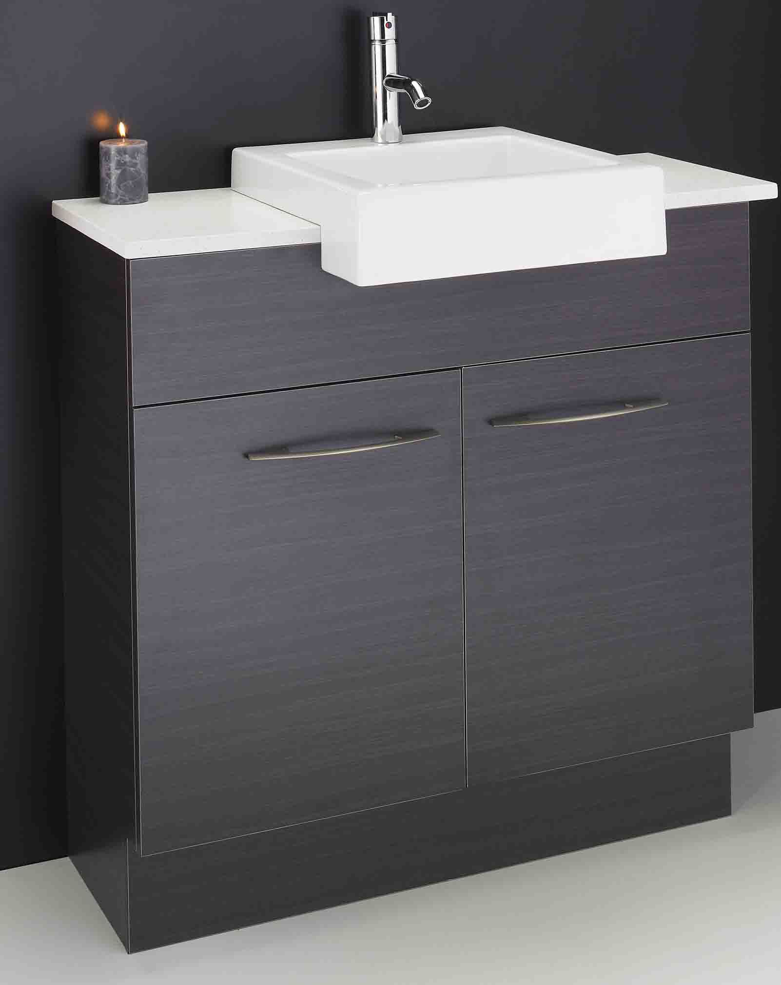 semi recessed vanity unit ensuite sydney Google Search