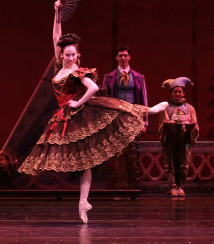 "Amber Neuman as ""Chocolate""' (spanish dancer)"