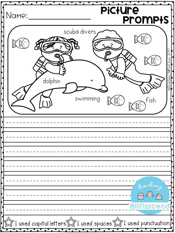 first grade writing activities ideas