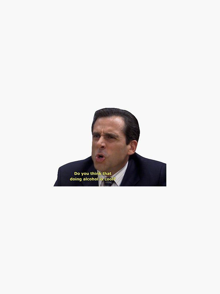 'michael scott the office screen cap' Sticker by c