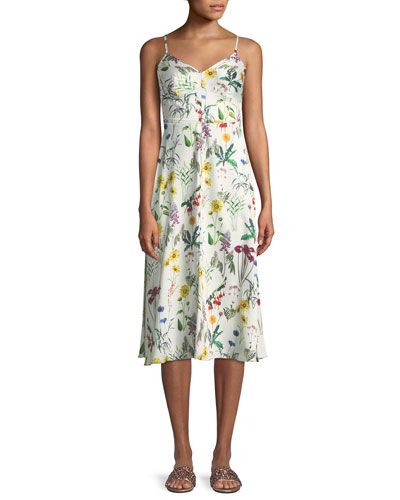 81513883efc Bailey 44 Fly Trap Sleeveless Floral-Print Dress