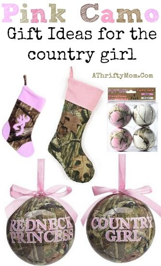 pink camo christmas tree ornaments stockings perfect for the country girl or duck dynasty fan