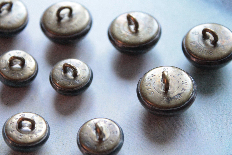 lot de 50 bouton scrapbooking 4 trou blanc mercerie couture 9 mm couture