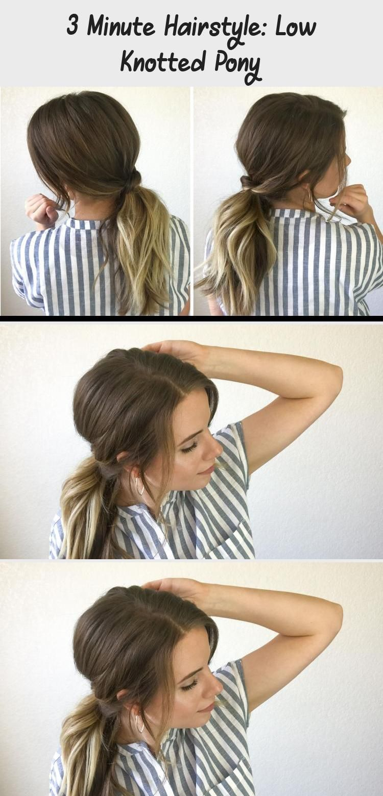Photo of Hair Styles – –  Need a quick hairstyle that is not a top knot? This 3 minute ha…
