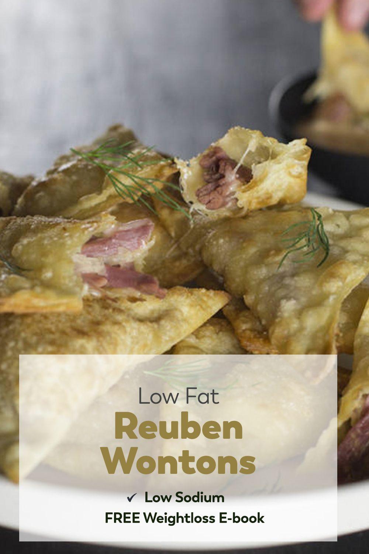 Reuben Wontons | Recipes Appetizers