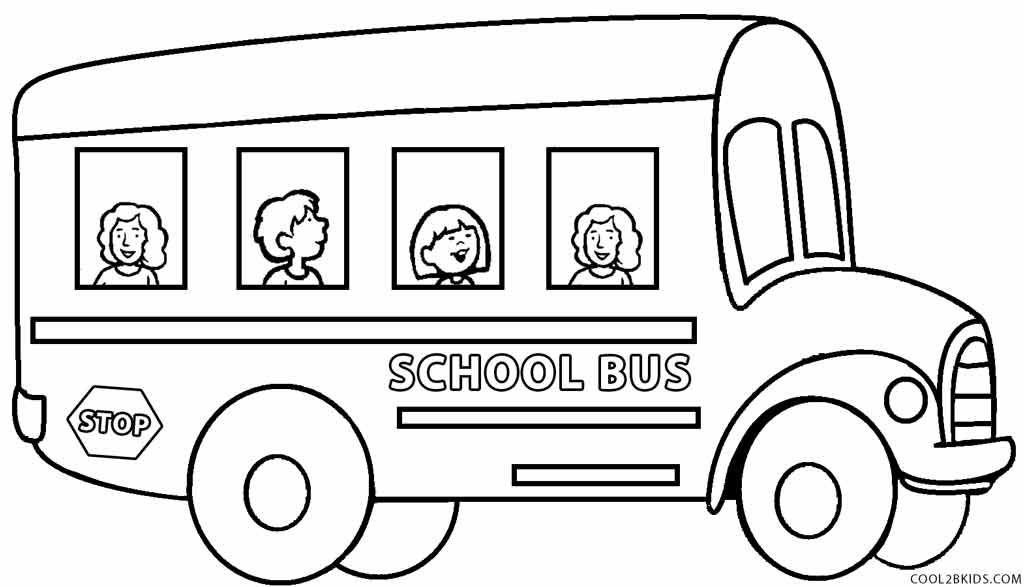 Ordinaire Printable School Bus Coloring Page For Kids | Cool2bKids