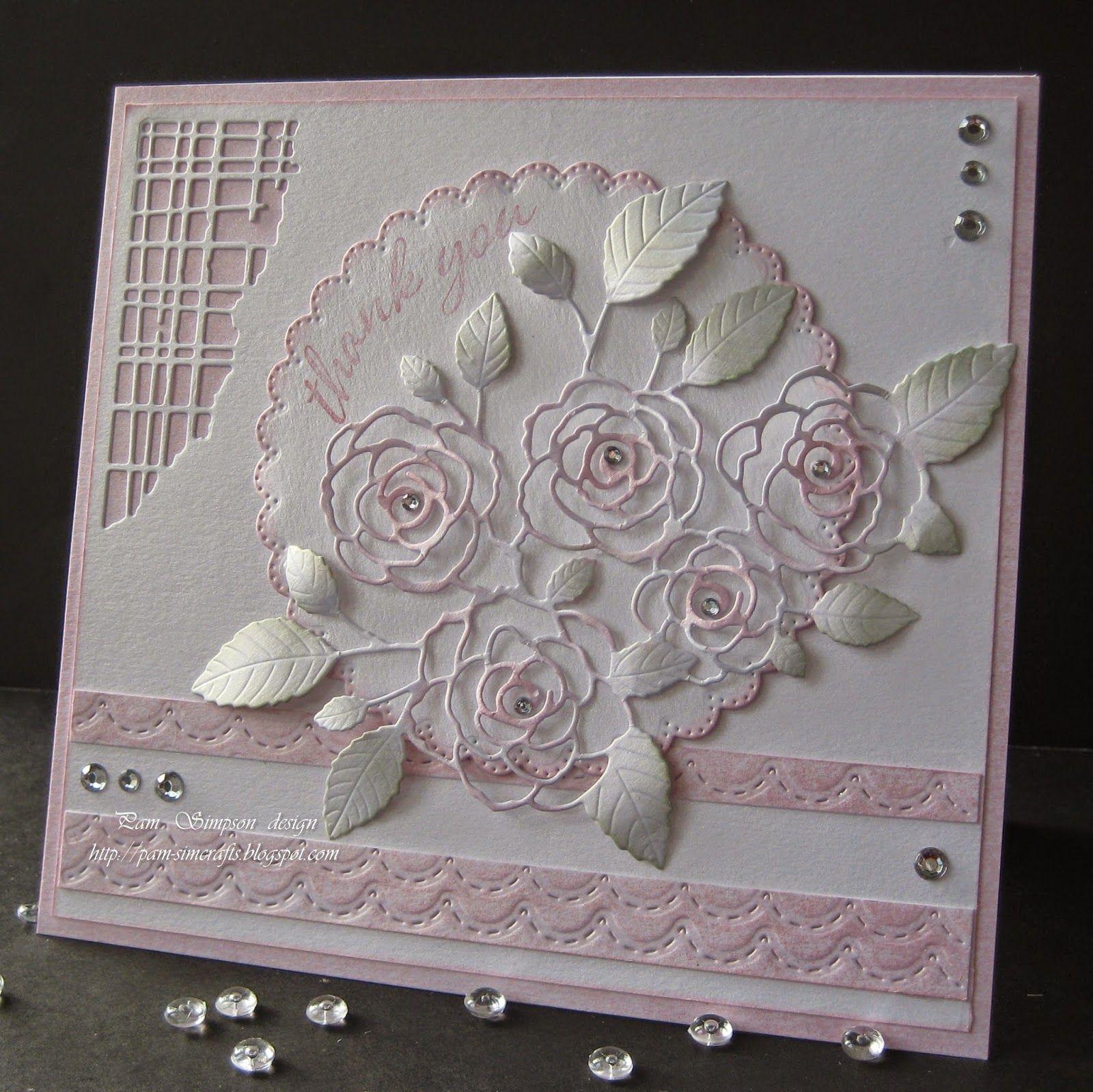 pamscrafts: English Rose Bouquet.
