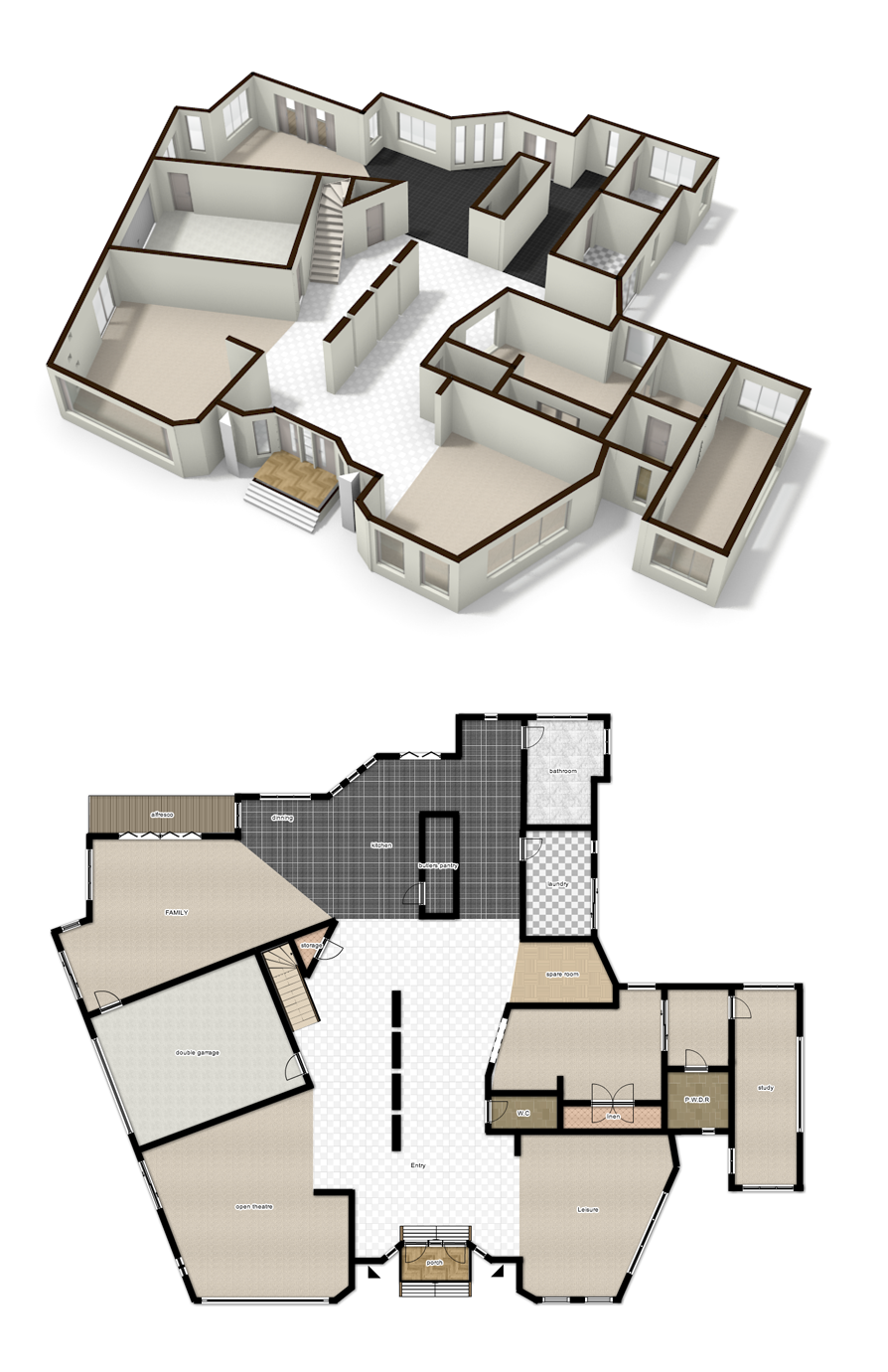 Big Home Design Made In Floorplanner By Jono Home Planner Floor Plans House Plans