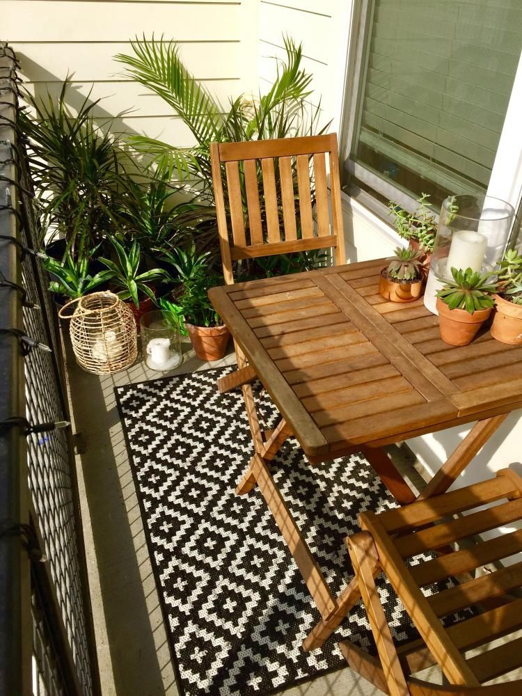 Balcony Ideas For Small Apartment