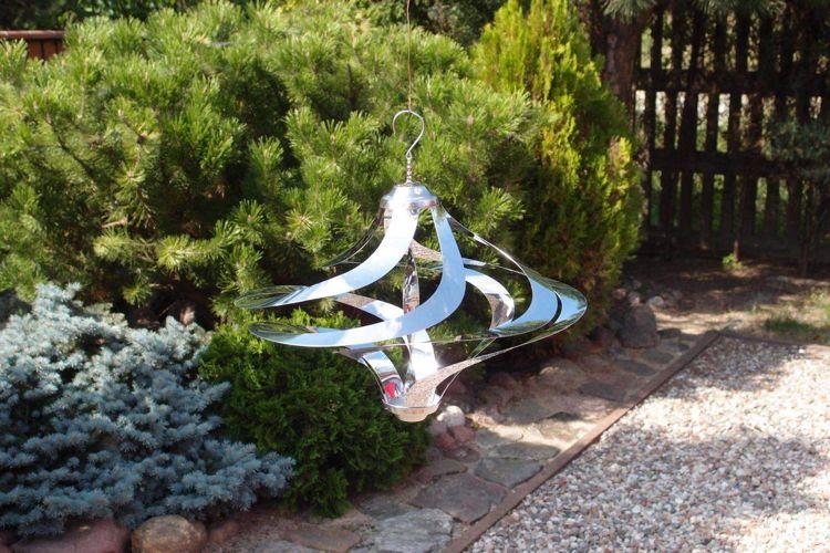 AuBergewohnlich Gartendeko Aus Edelstahl   27 Ideen Für Edelstahlfiguren