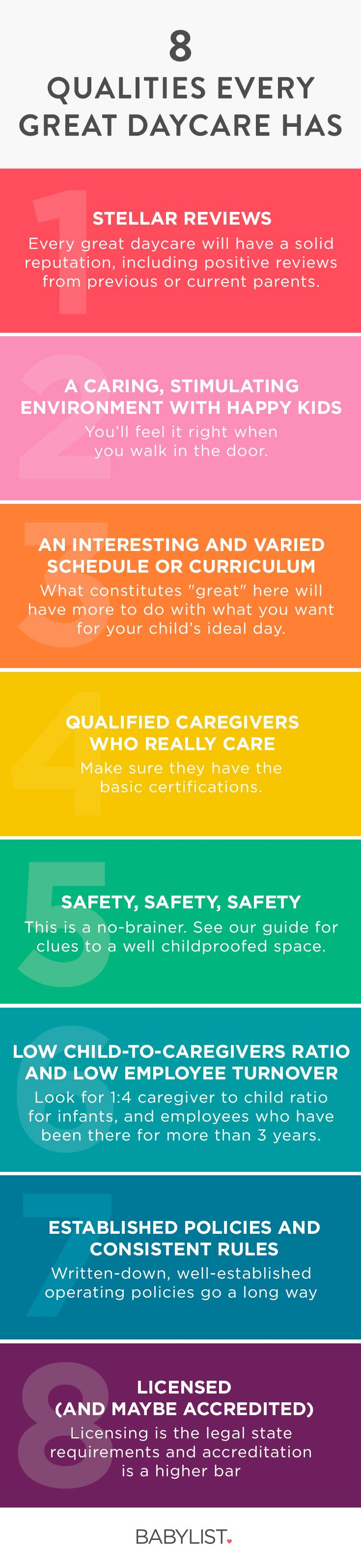 8 Important Qualities of a Great Daycare | Baby advice ...