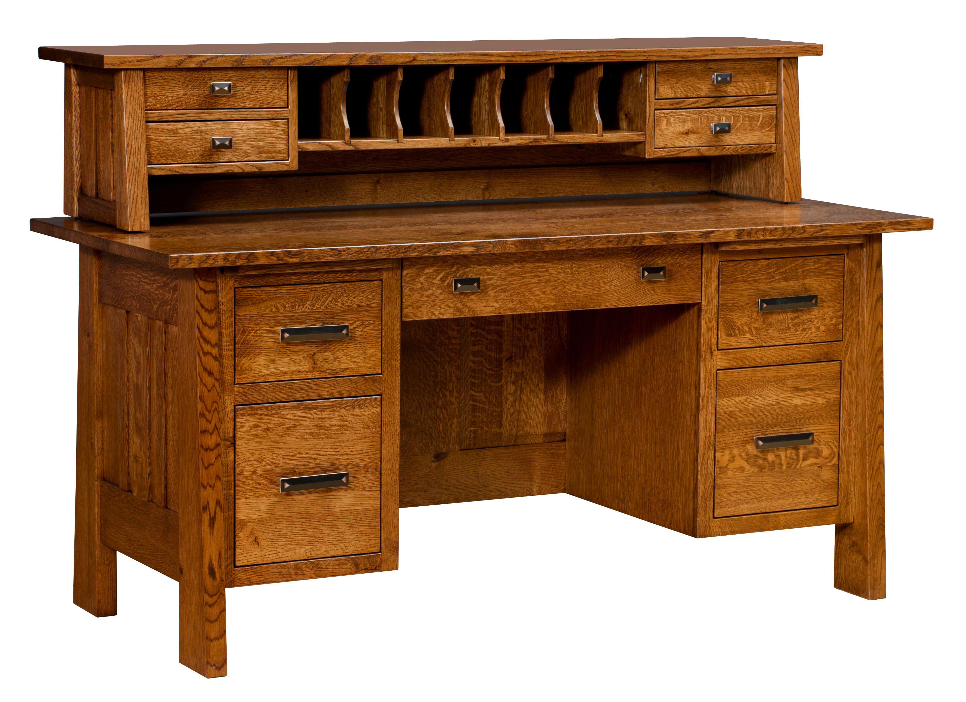 Freemont Mission File Desk - Amish Direct Furniture