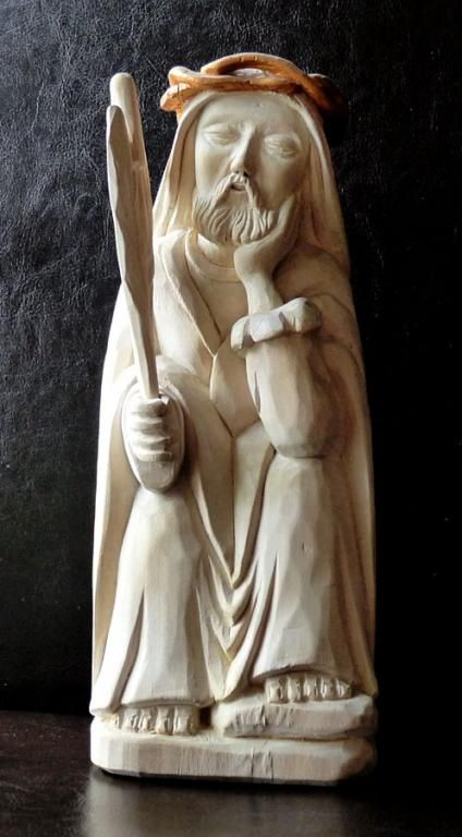 Sztuka Ludowa Frasobliwy Jozef Szypula 4535311010 Oficjalne Archiwum Allegro Sacred Art Sculpture Art