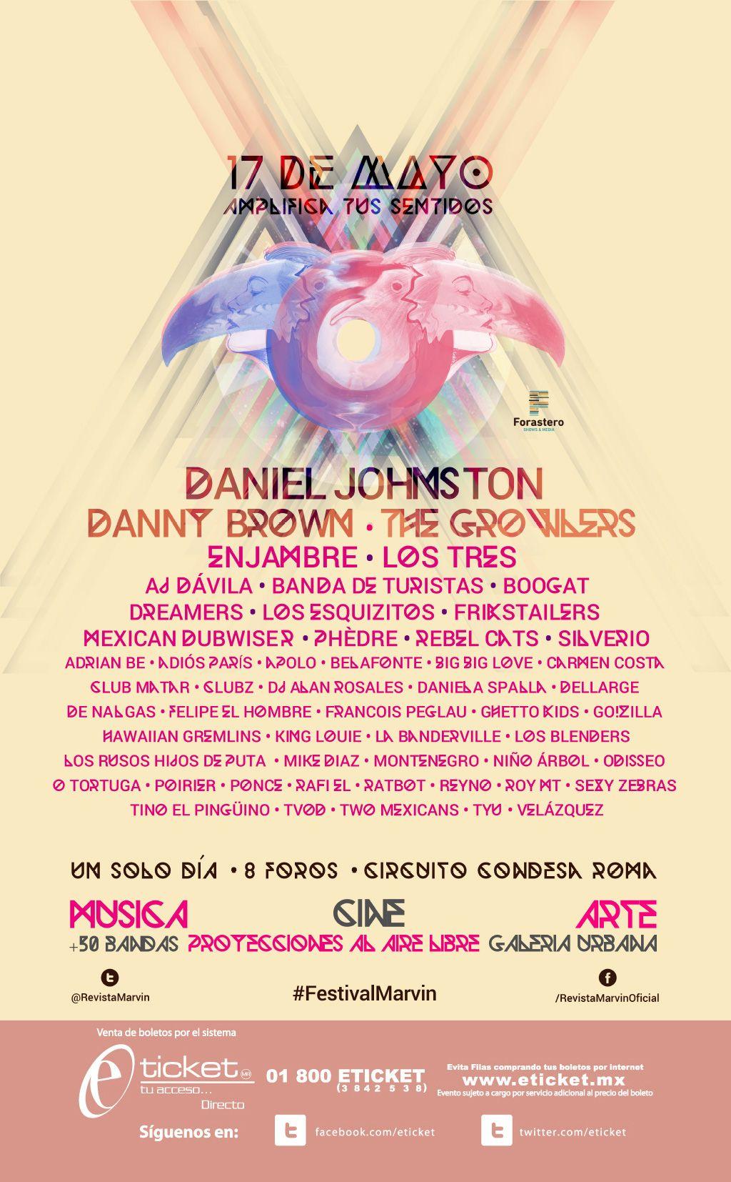 Cartel festival marvin 2014