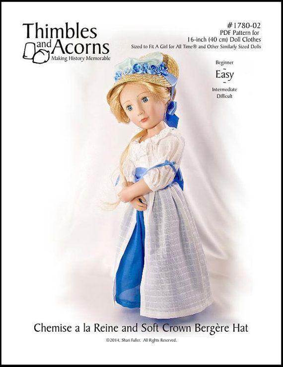 Pixie Faire Thimbles and Acorns Chemise a la Reine and Soft Crown ...