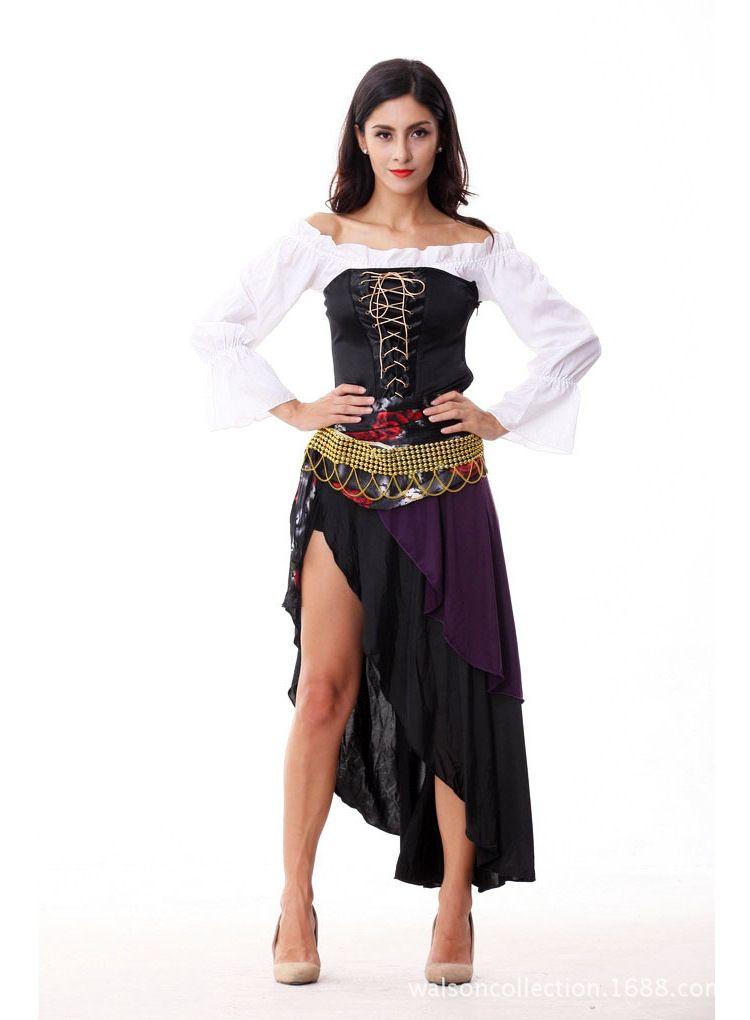 Click to Buy \u003c\u003c New Sexy Halloween Costume Women Helloween Make Up - sexiest halloween costume ideas