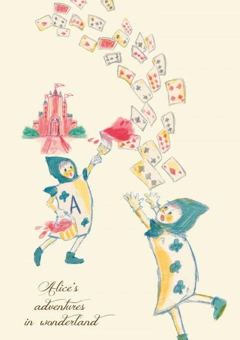 Wor-アリス トランプ兵-800px Alice Pinterest Alice and