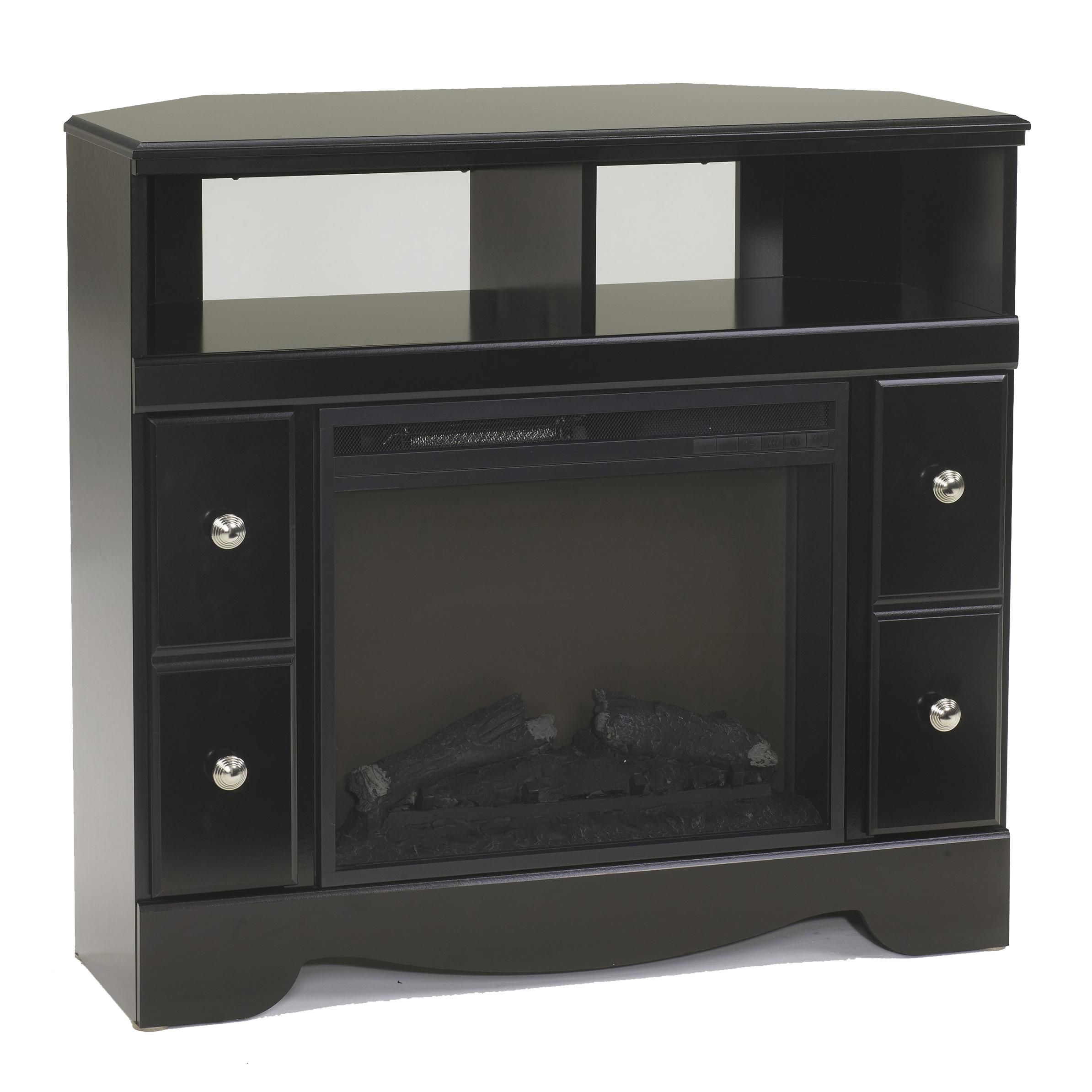 Shay Corner Tv Stand Fireplace By Signature Design By Ashley