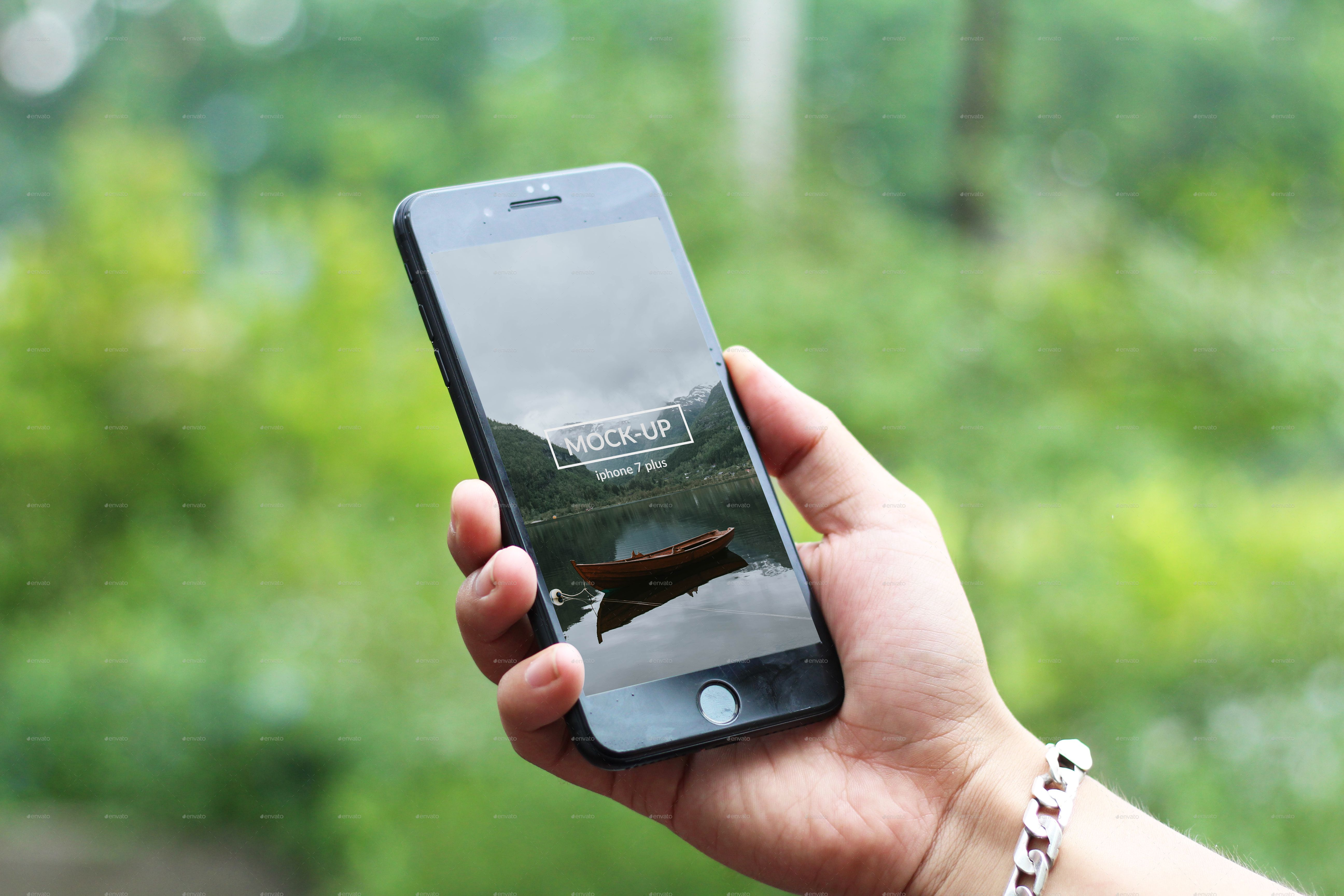 Phone 7 Plus Hand on Mockup Phone 7, Phone, Iphone mockup