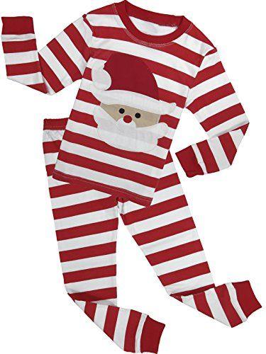 9e92dc7a3cfe Family Feeling Baby Boys Girls Santa Claus Christmas Cotton Long ...
