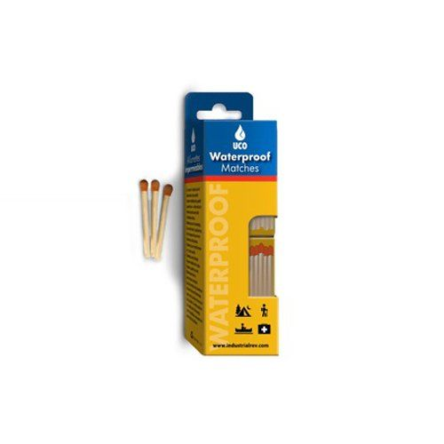 UCO Waterproof Safety Matches with WaterResistant Box and