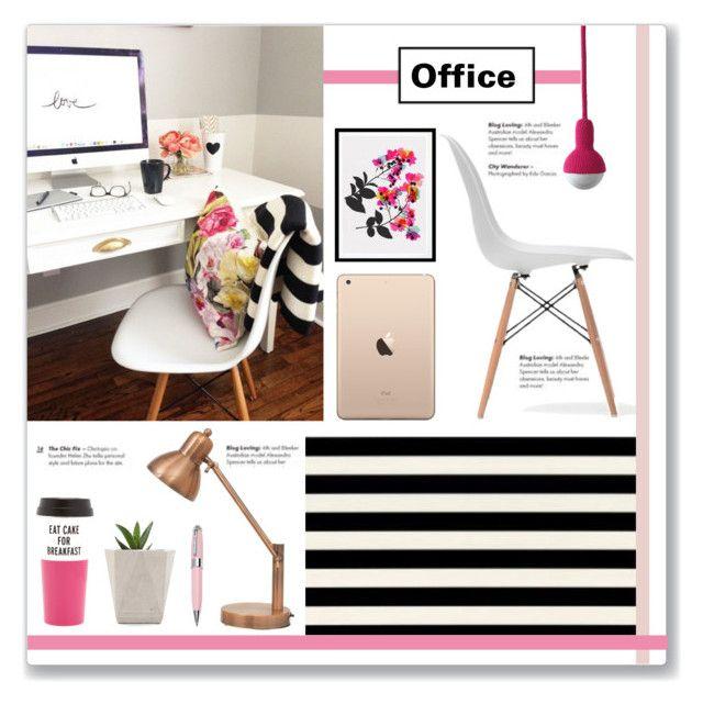 Mood Board: Pretty Home Office\