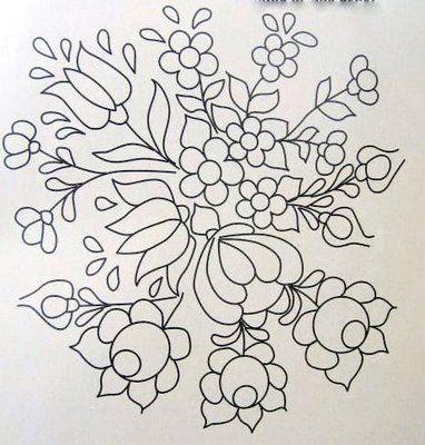 ARTEMELZA - Arte e Artesanato: Riscos para pintura bauernmalerei | Sketches for bauernmalerei painting