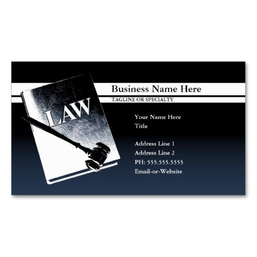 Law Book Business Card Zazzle Com Business Card Template Attorney Business Cards Law Books