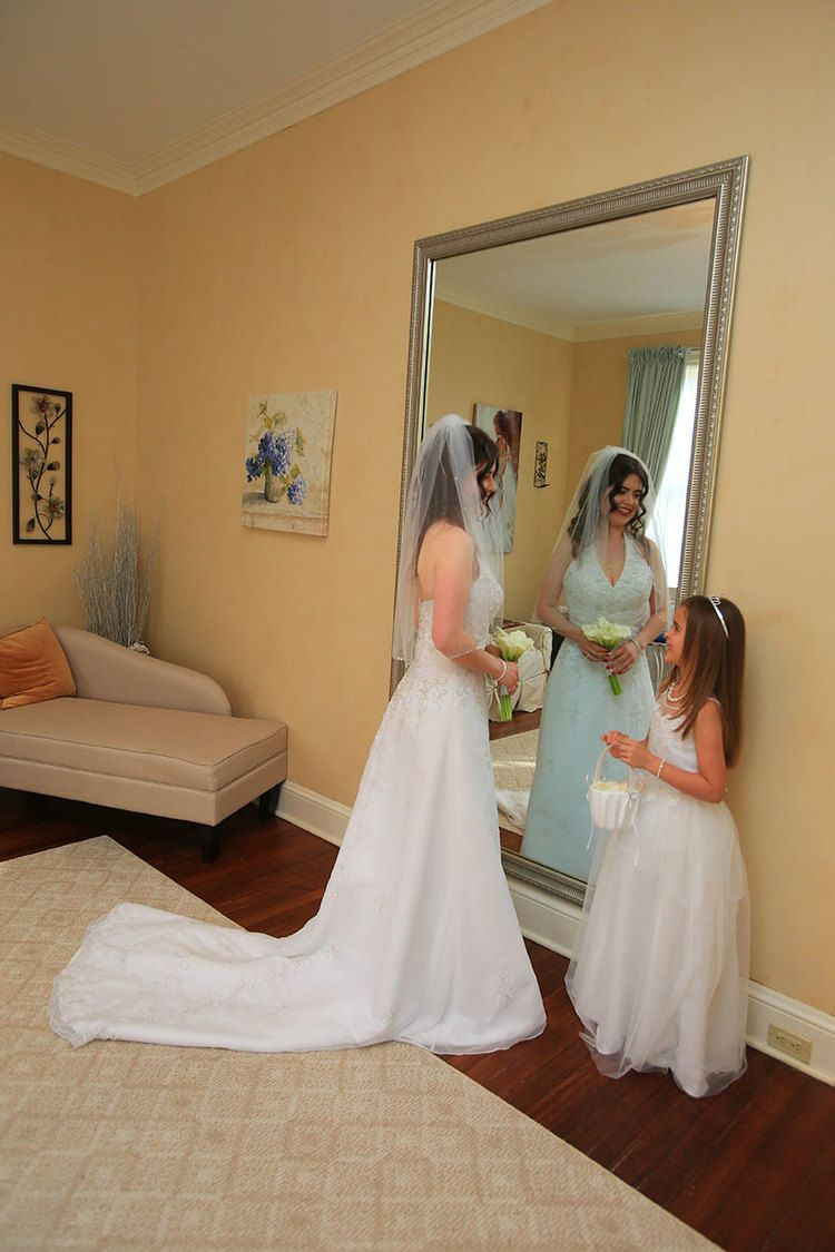 Bride Getting Ready Rust Manor House
