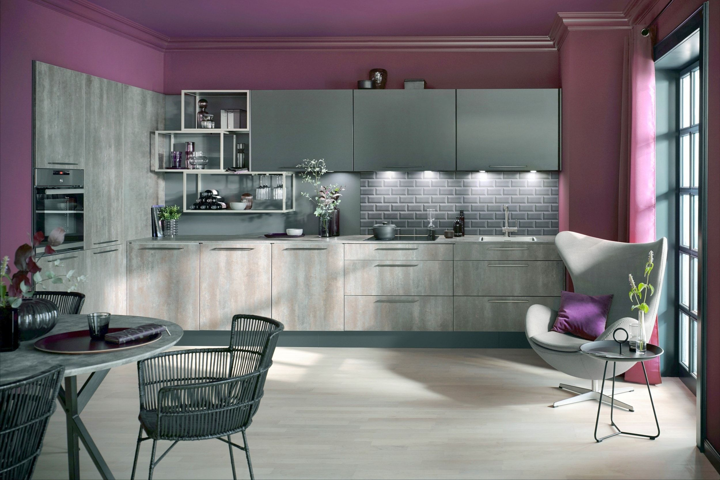 Oxide Stone Effect Kitchens Kitchen color trends
