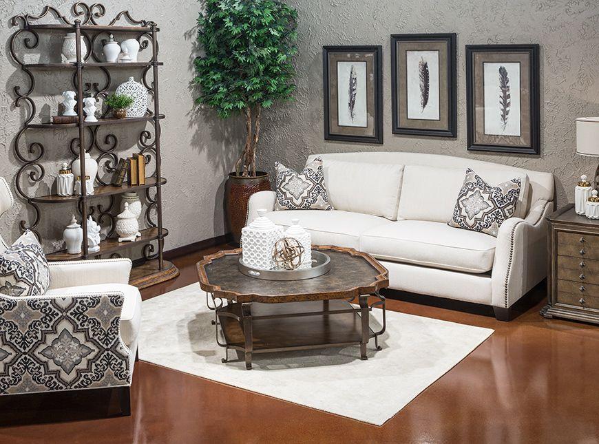 Hemispheres A World Of Fine Furniture Ethan Monarch Sofa