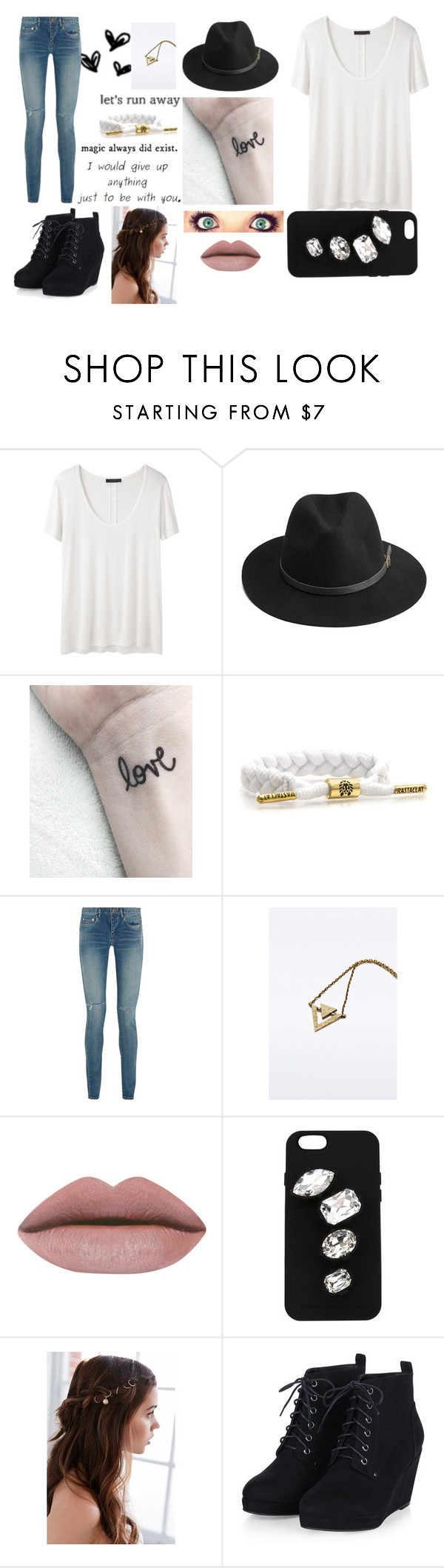 """""""Anything, for you"""" by troylerzalfie on Polyvore featuring The Row, BeckSöndergaard, Yves Saint Laurent, STELLA McCARTNEY, Regal Rose and thanksdylan"""