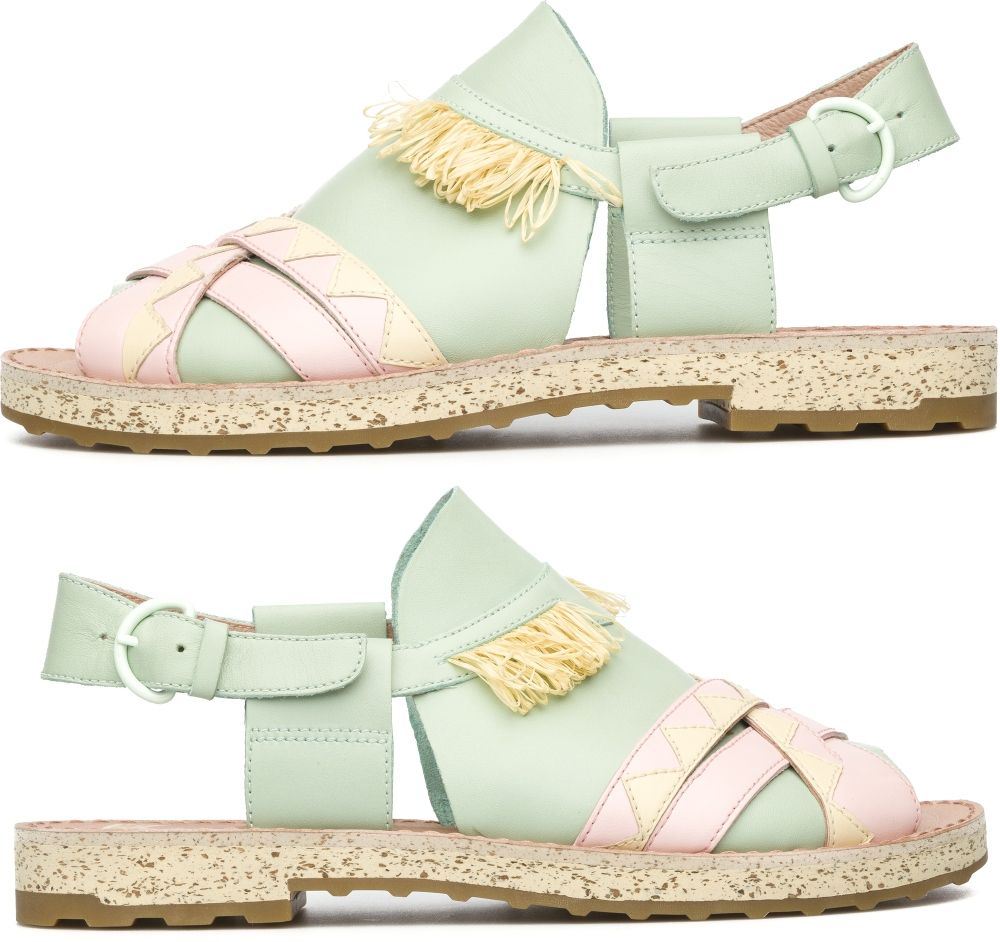 6703b21ac2 Camper Twins Zapatos planos Mujer. Tienda Oficial Online España